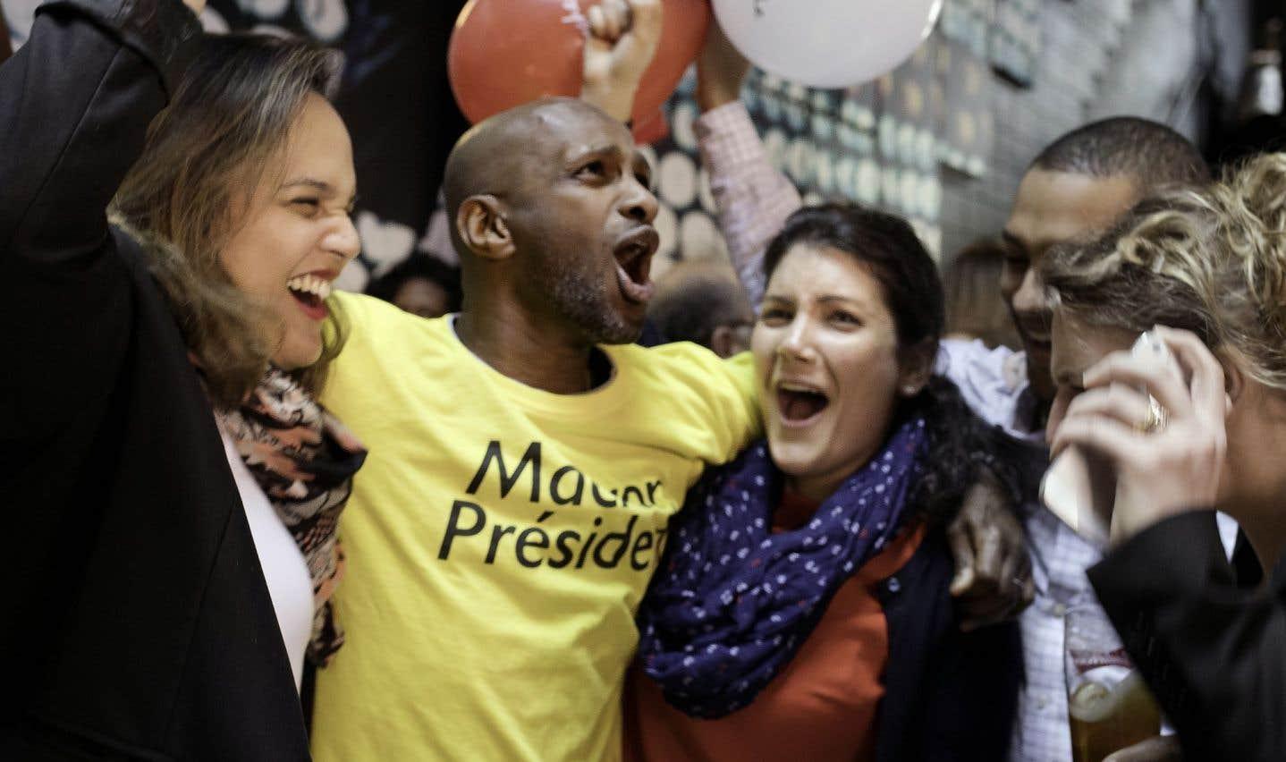 Présidentielle française: les Français de Montréal se réjouissent du résultat