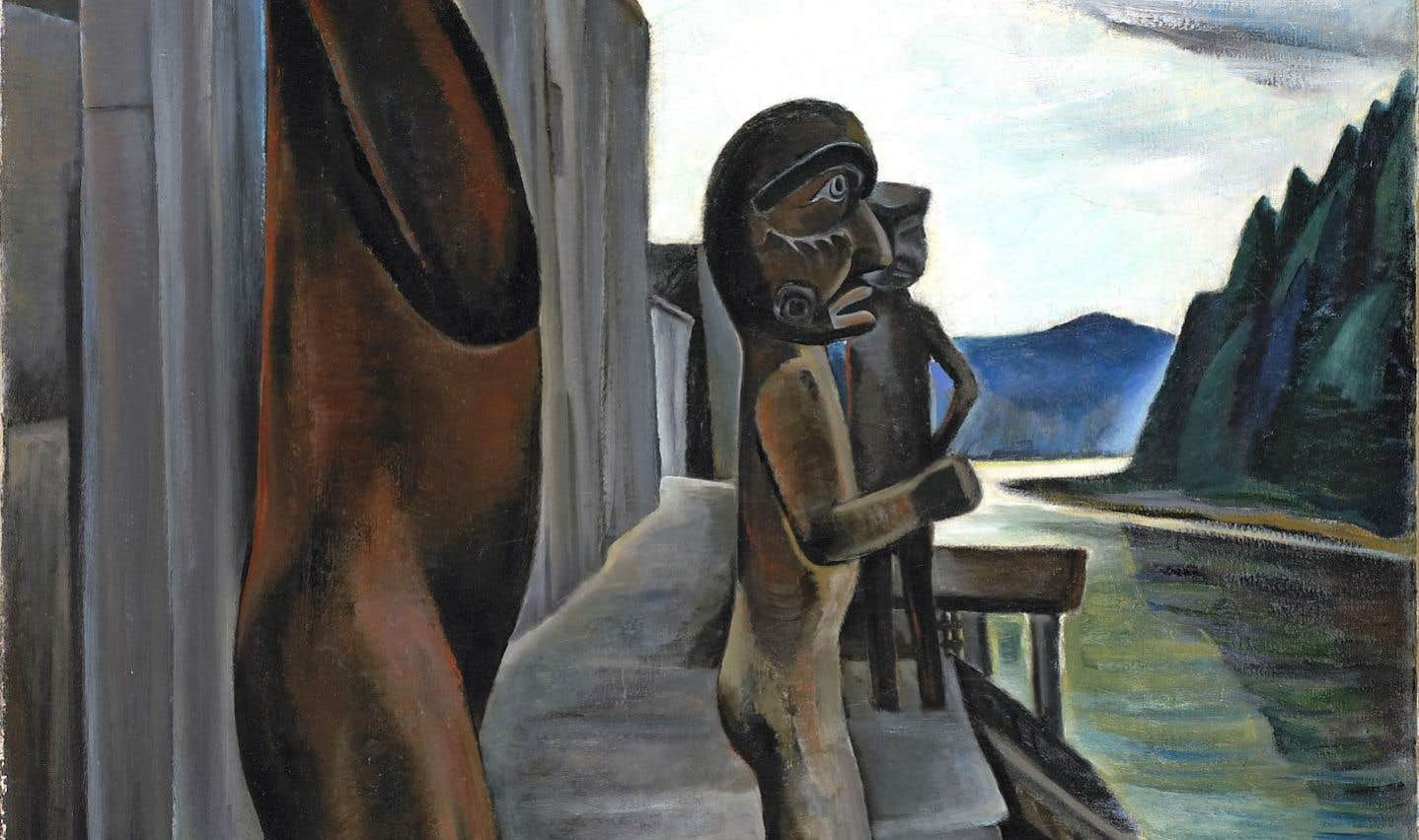 «Blunden Harbour» (vers 1930), Emily Carr