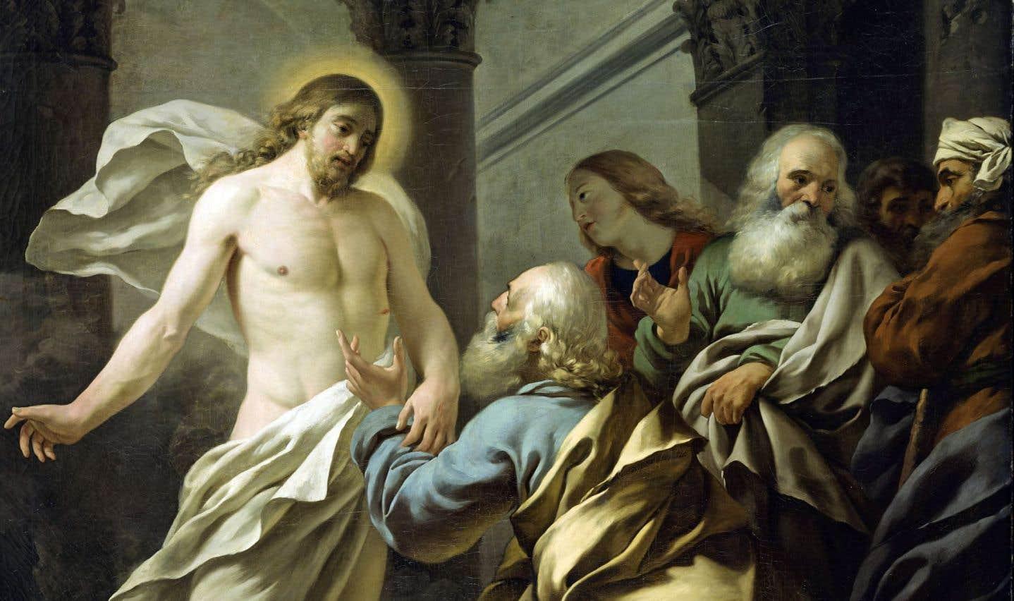 «L'incrédulité de saint Thomas» (1770), Jean-Jacques Lagrenée