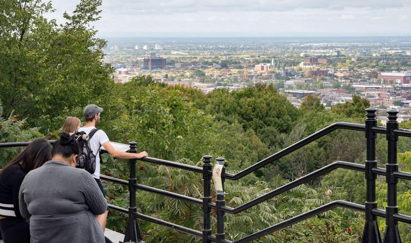 Le mont Royal est un repère de la ville.