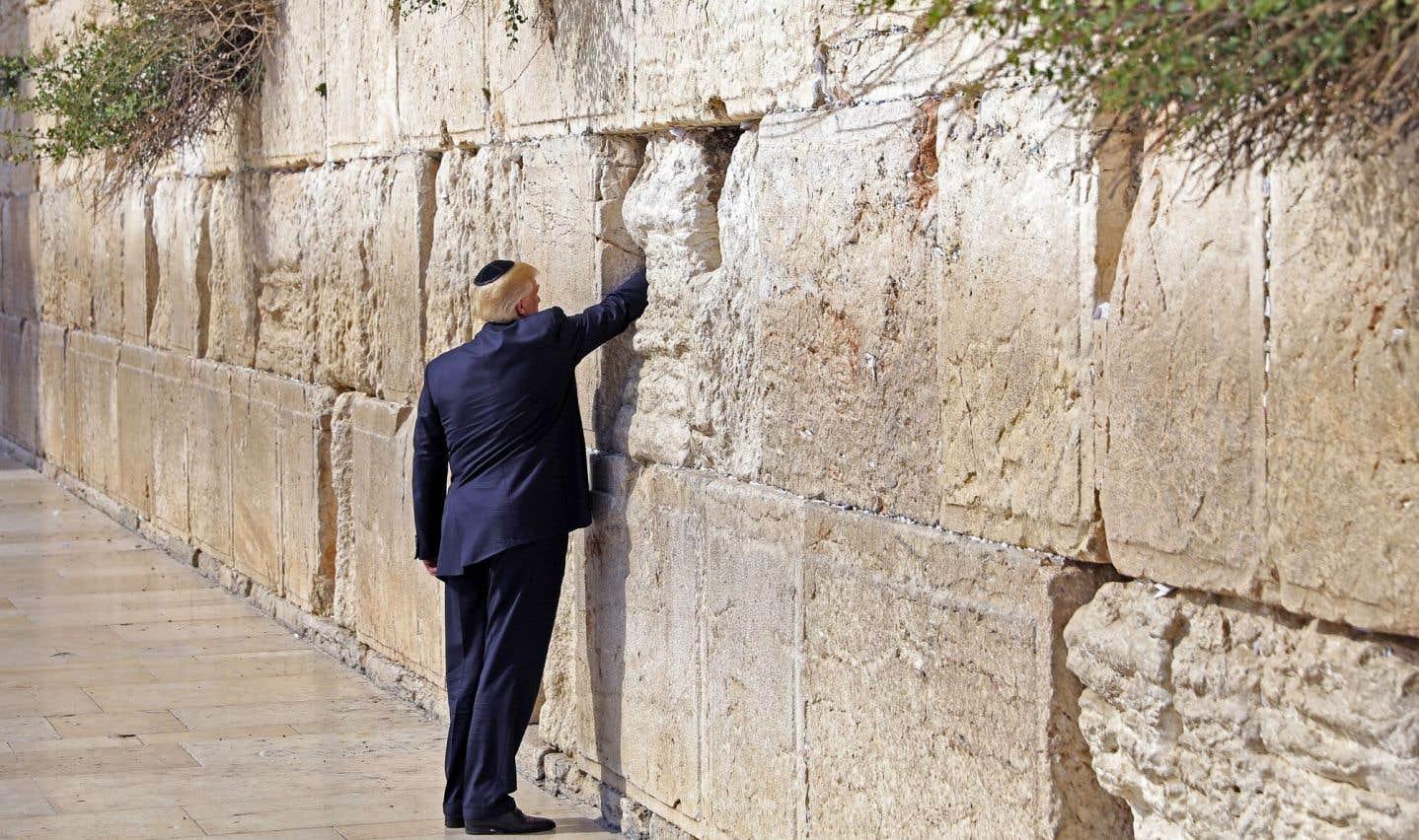Un Trump très diplomatique au Moyen-Orient