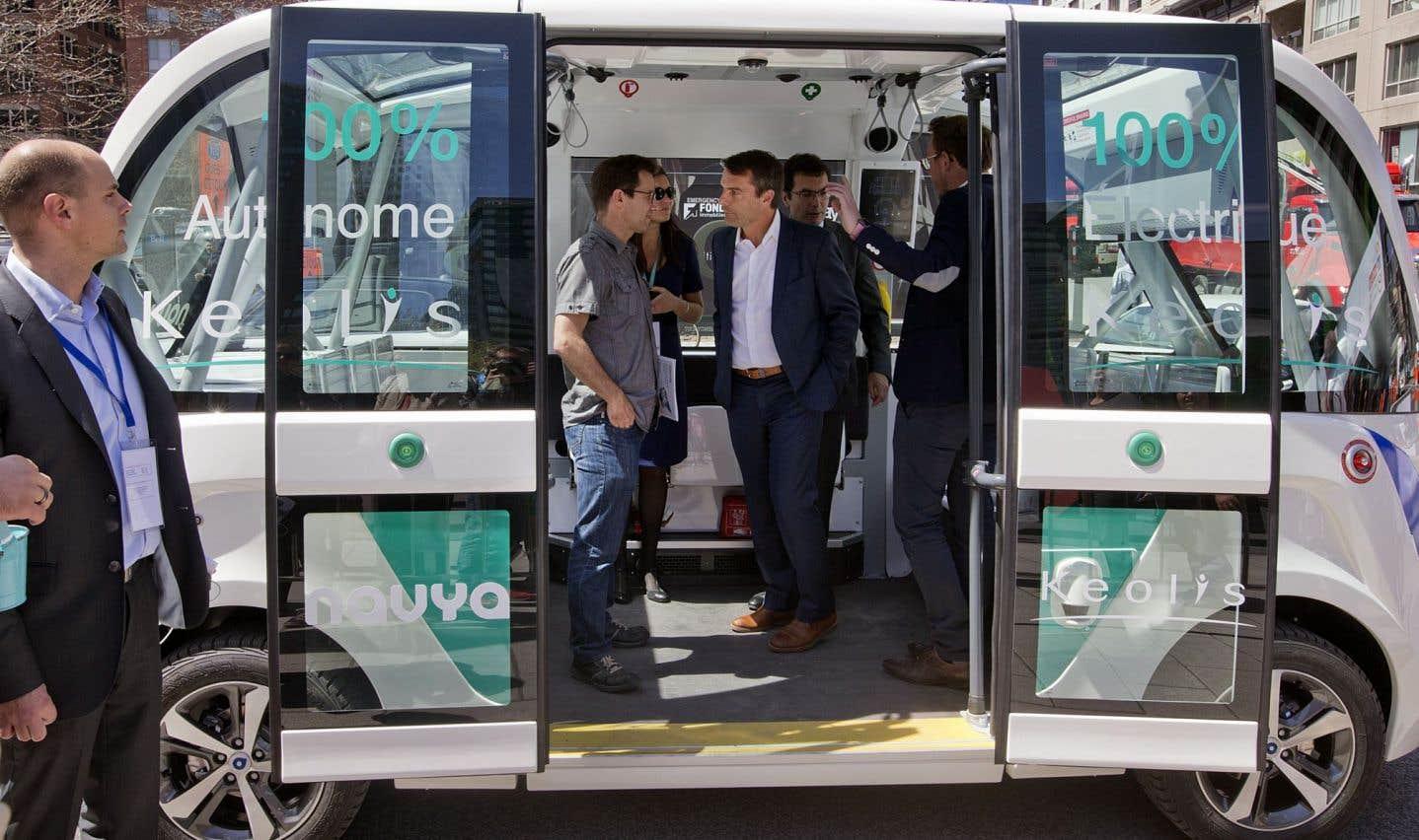 La semaine dernière, la Ville de Terrebonne a annoncé un éventuel projet pilote de véhicule «sans chauffeur», qui pourrait desservir l'écoquartier Urbanova.