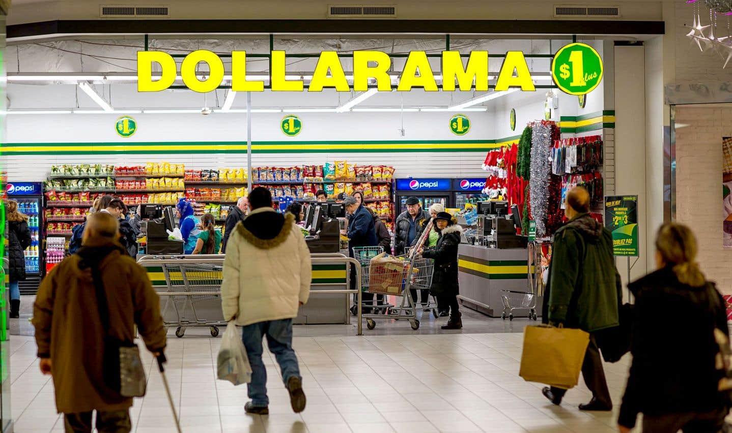 Dollarama croit pouvoir absorber les hausses des salaires minimums