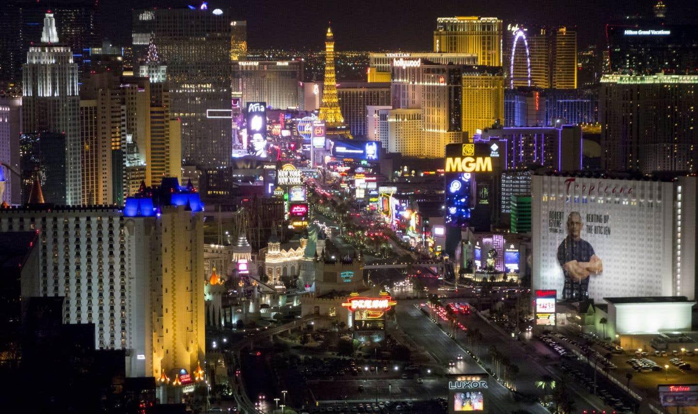 Le Strip de Las Vegas et ses nombreux casinos