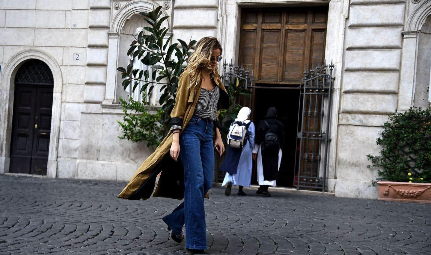 Les rues de Rome sont idéales pour se balader en solo.