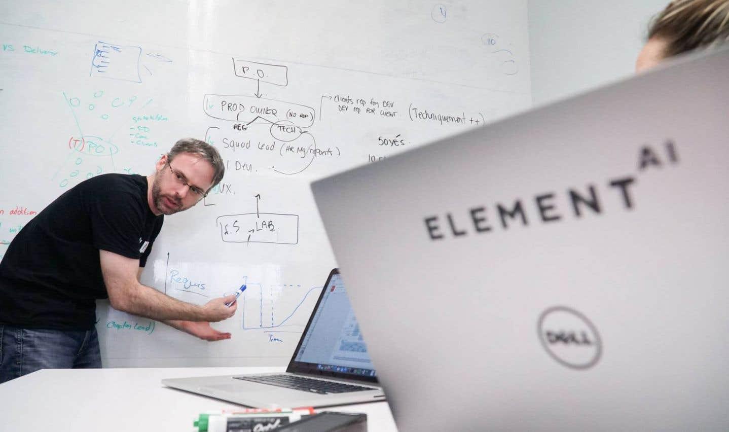 Element AI reçoit un financement record