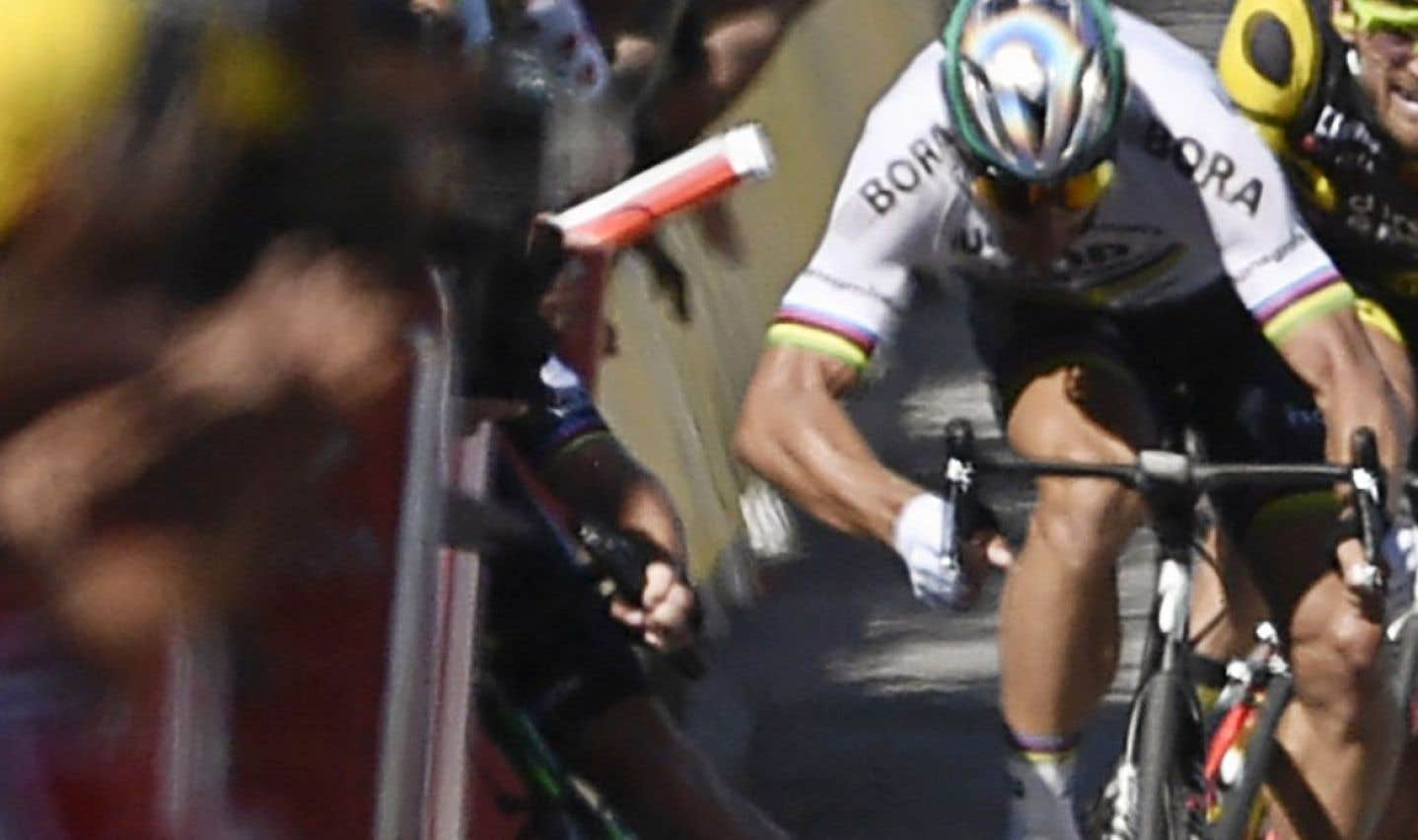 Peter Sagan disqualifié du Tour de France