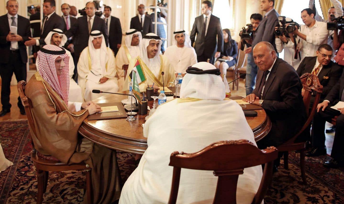 Riyad et ses alliés maintiennent leurs sanctions contre Doha.