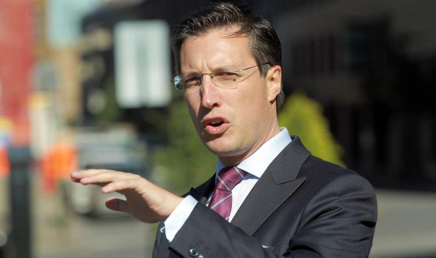 Le conseiller montréalais Guillaume Lavoie