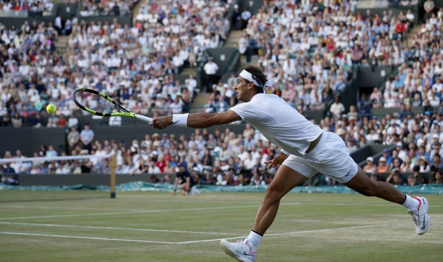 Nadal est surpris par Müller, qui atteint les quarts de finale à Wimbledon