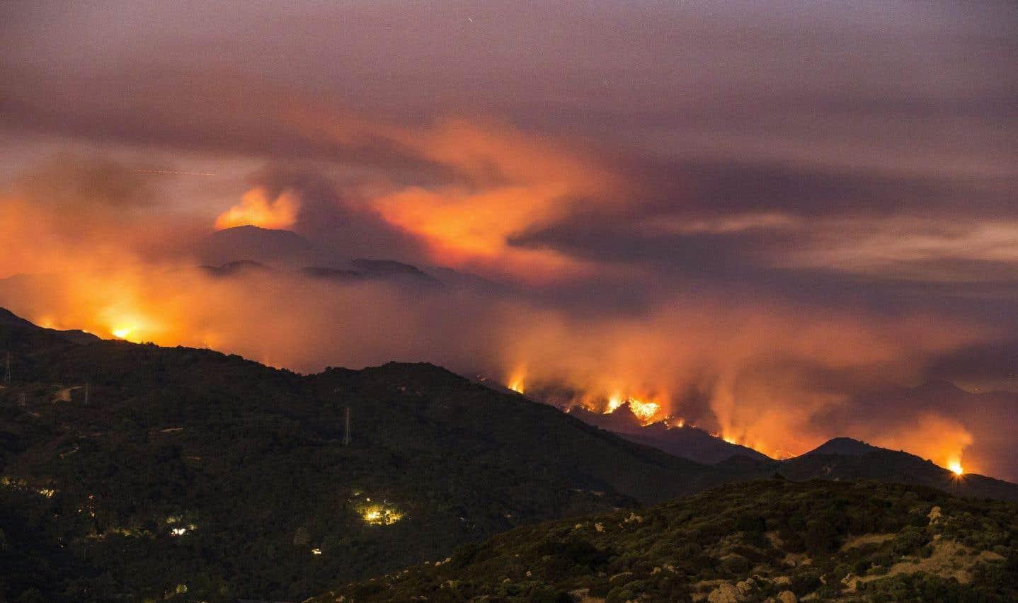Incendies de forêt en C.-B.: la situation n'est pas près de se régler