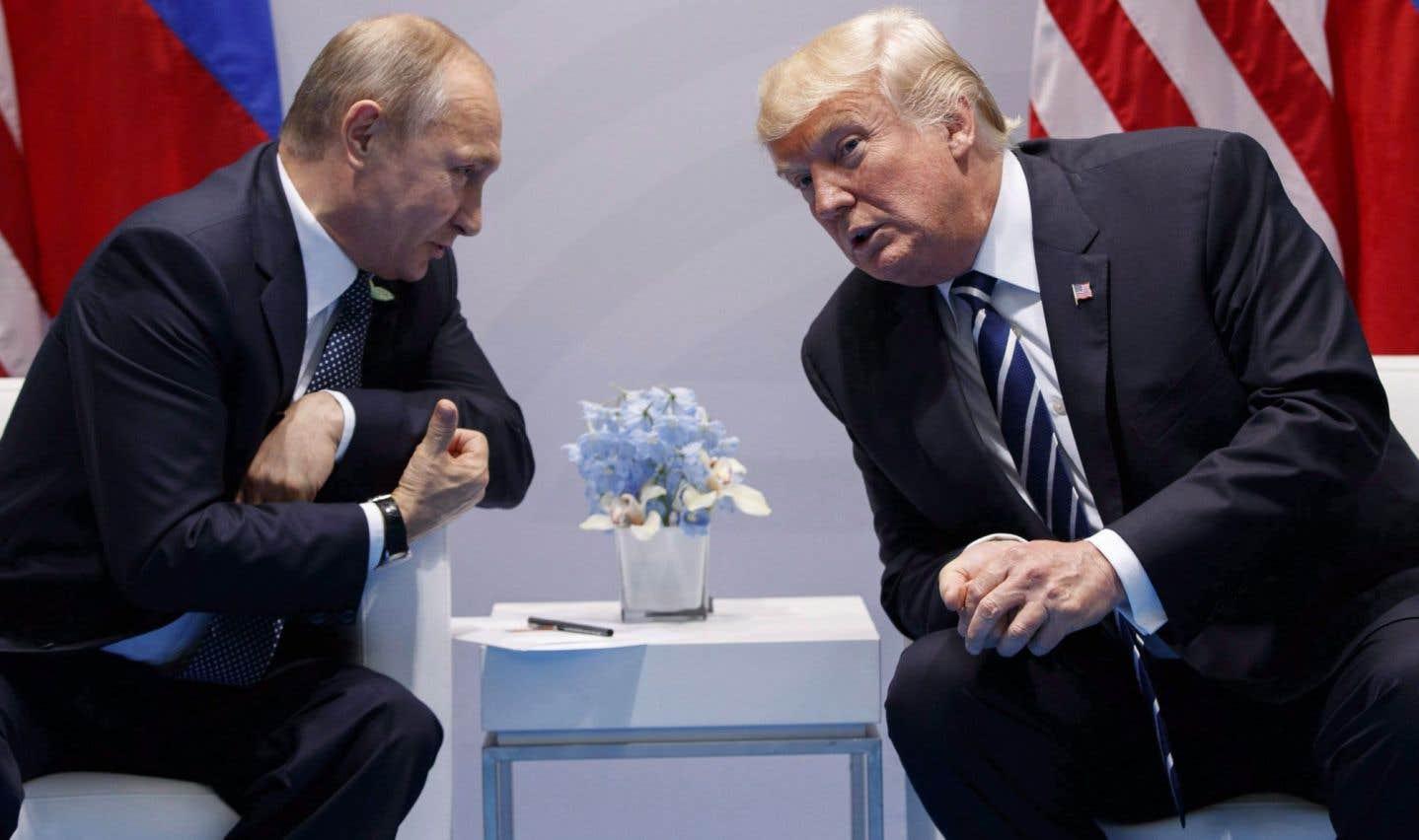 Trump fulmine face aux soupçons de collusion avec la Russie