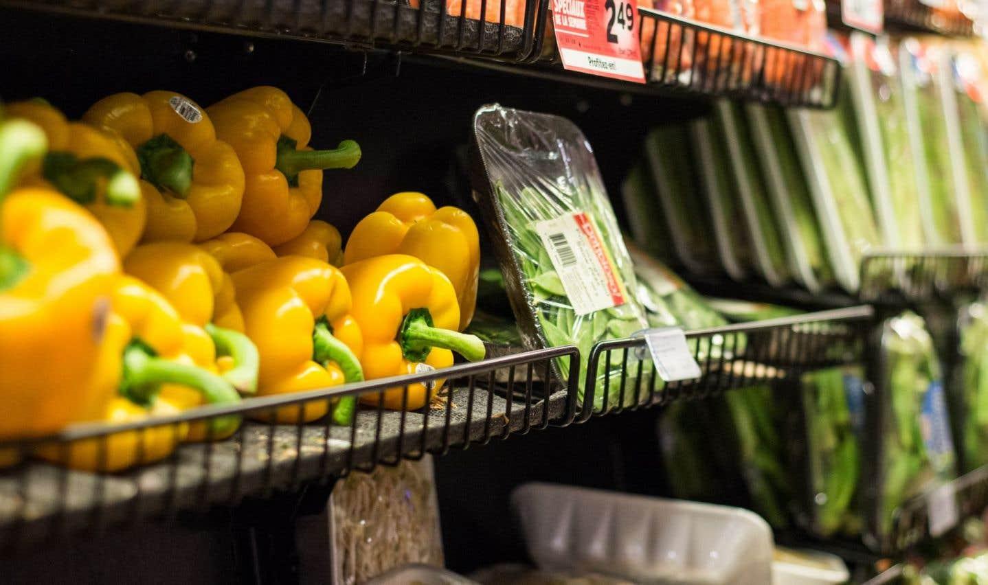 Les légumes figurent sur la liste des types d'aliments ayant le plus contribué à une amélioration du régime.