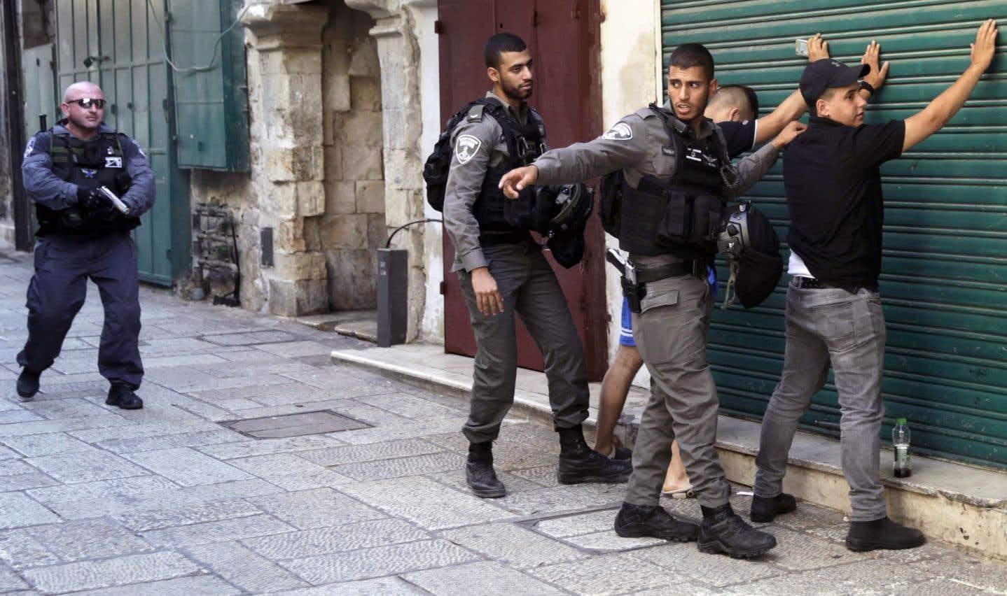L'esplanade des Mosquées fermée après une fusillade à Jérusalem