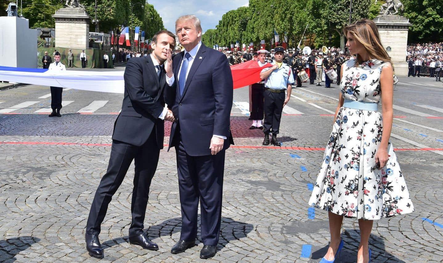 Pourquoi Paris accueille-t-il le président Trump?