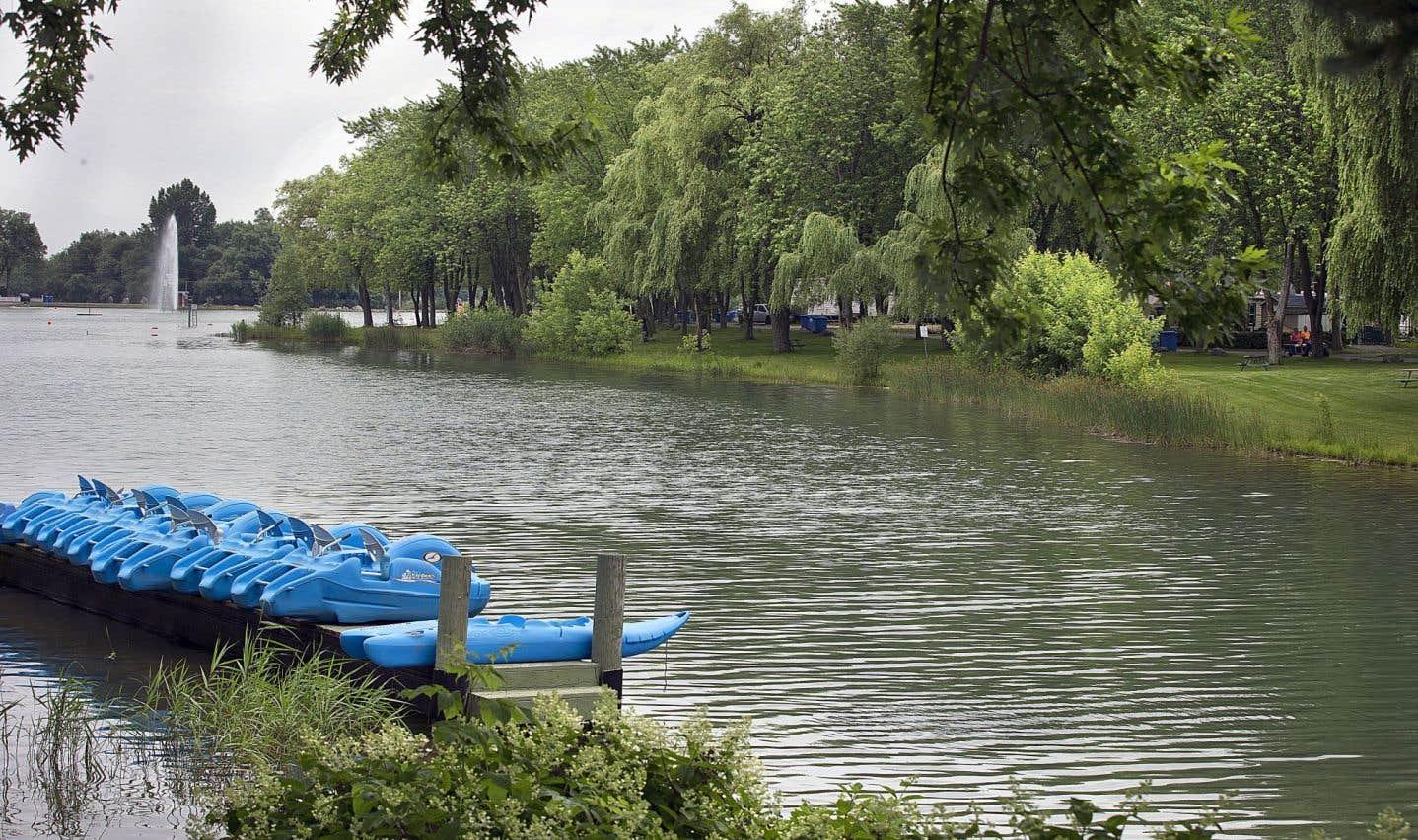 Un lac artificiel au bonheur véritable