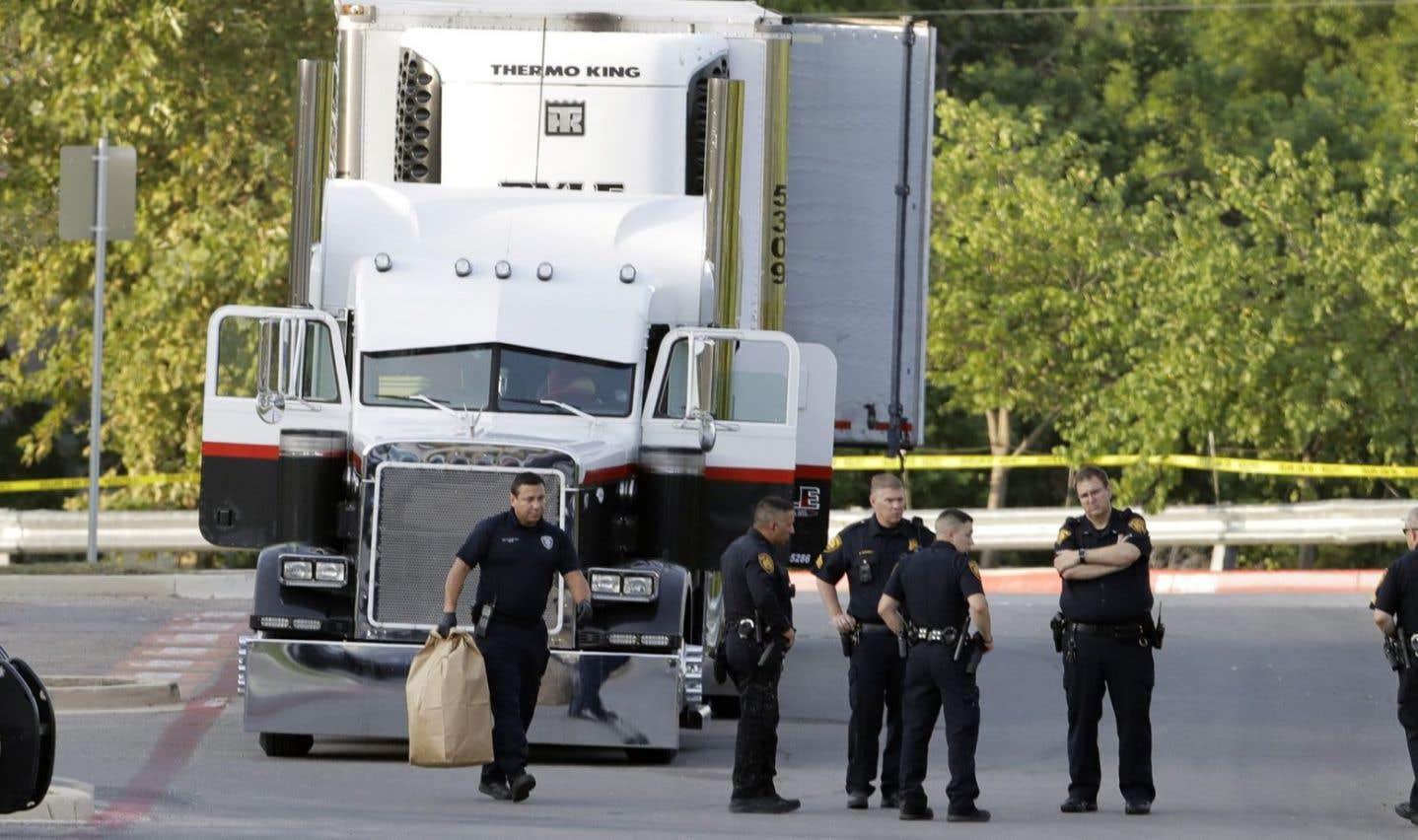 Le chauffeur du camion a été arrêté.