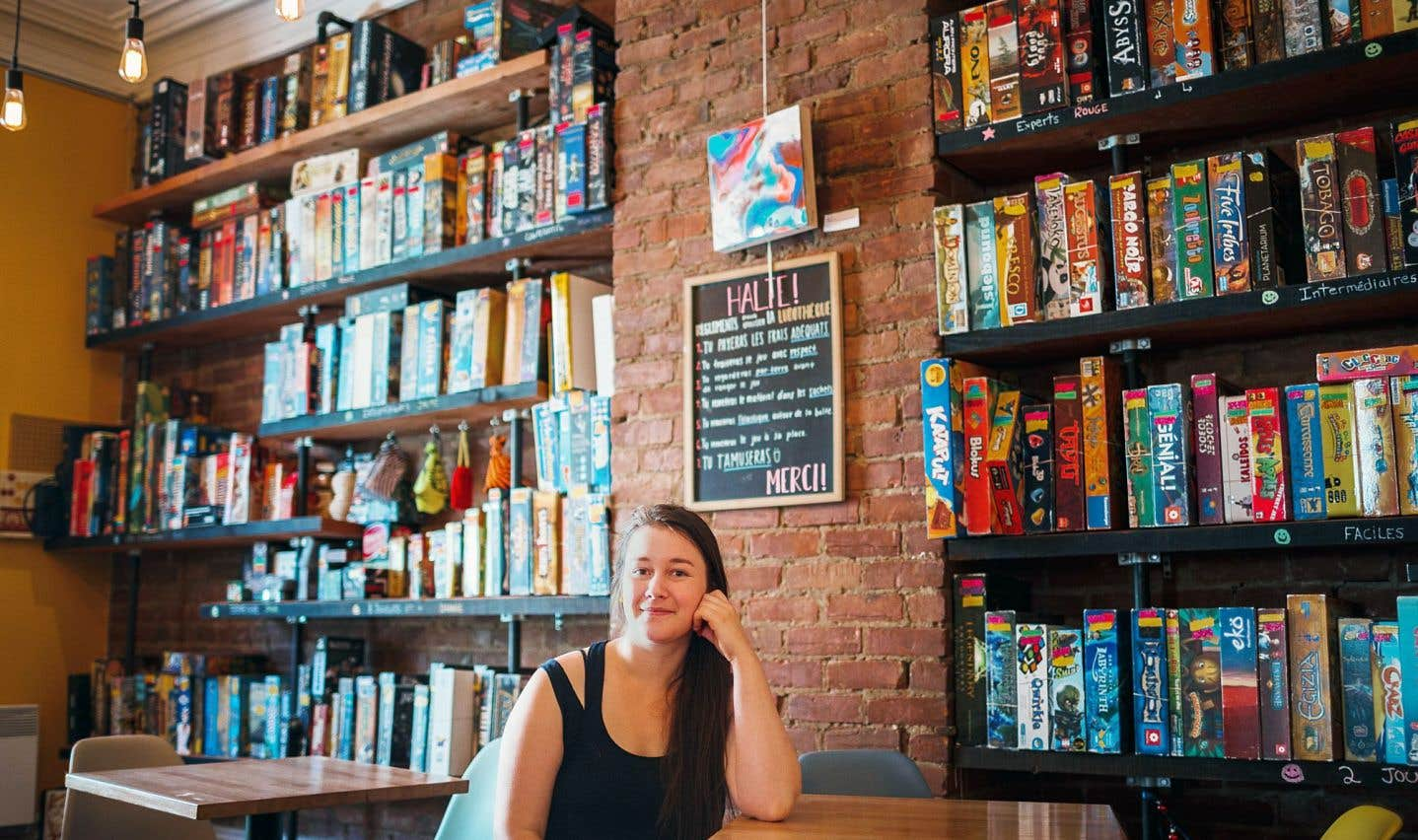 Nina-Michèle Le Floch, 26ans, baigne dans le milieu des jeux de société depuis son adolescence. Depuis 2014, elle est propriétaire de l'entreprise La Récréation, dont sa mère lui a cédé les rênes.