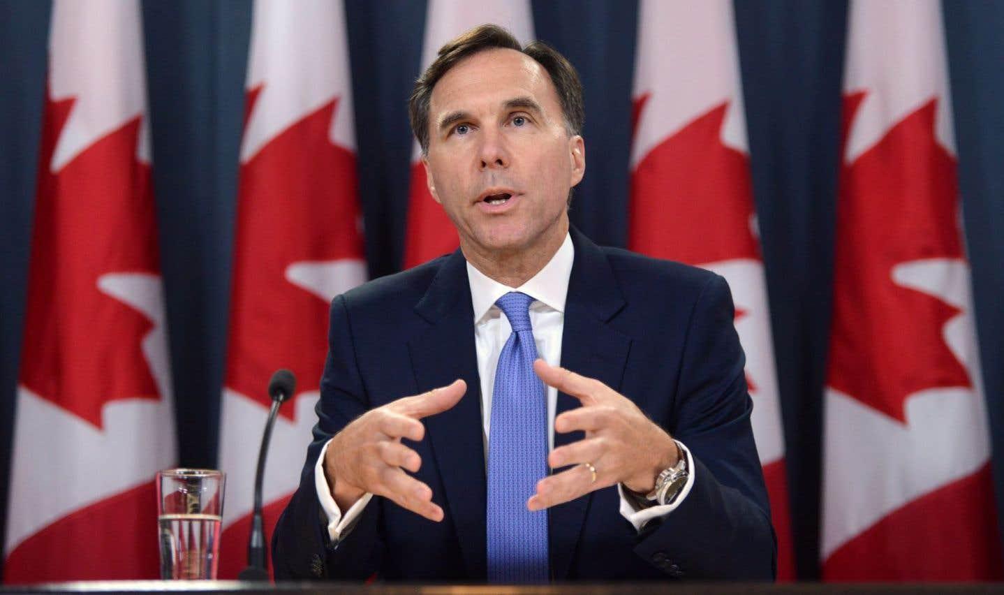 Patrons et professionnels ont la «réforme fiscale» d'Ottawa à l'oeil