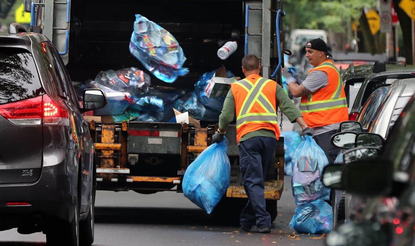 Le recyclage en perte de vitesse au Québec