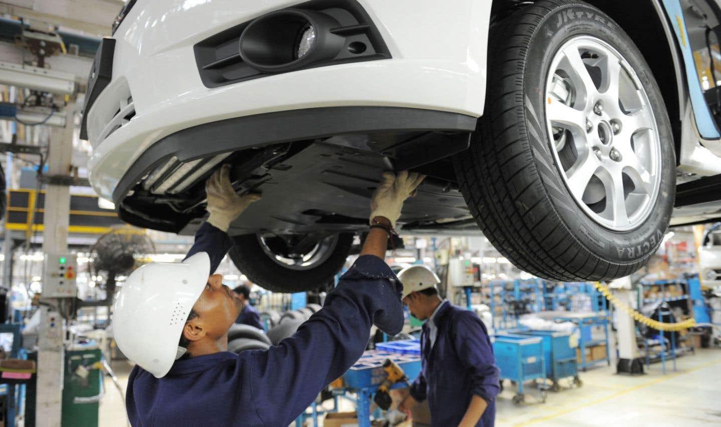Le bénéfice de GM a plongé au deuxième trimestre, en raison de frais de restructuration en Inde, entre autres.