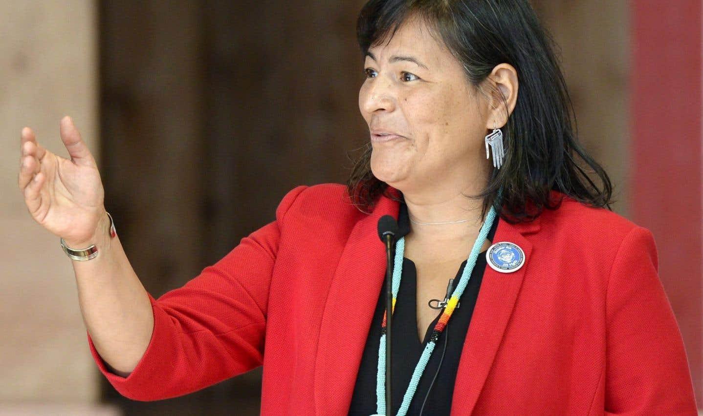 La commissaire Michèle Audette