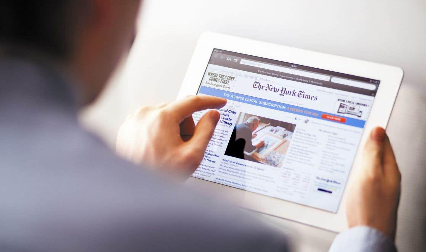 Le «New York Times» gagne toujours des abonnés, mais le rythme ralentit