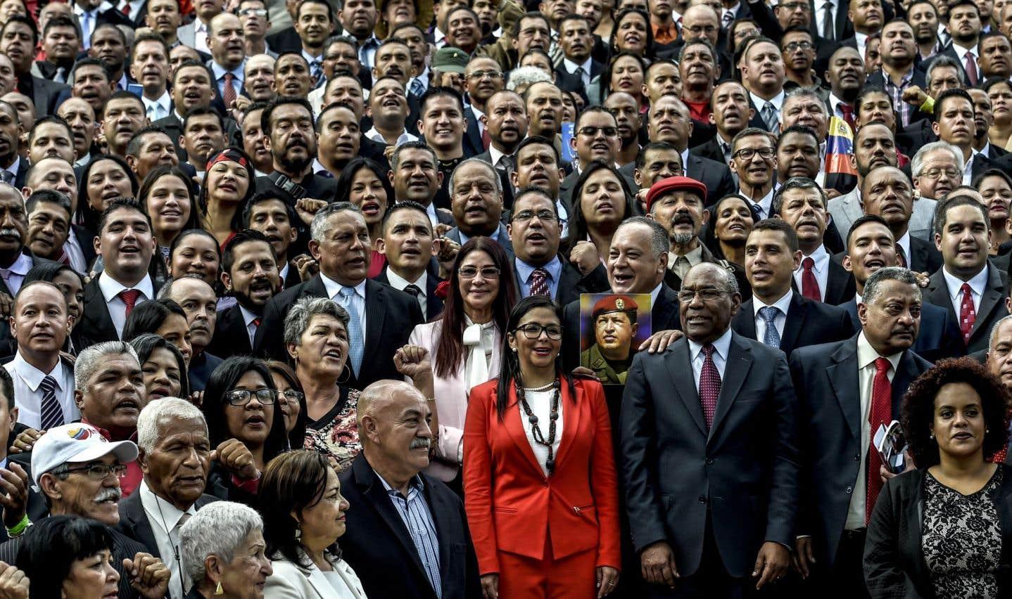 La Constituante fait ses débuts au Venezuela, envers et contre tous