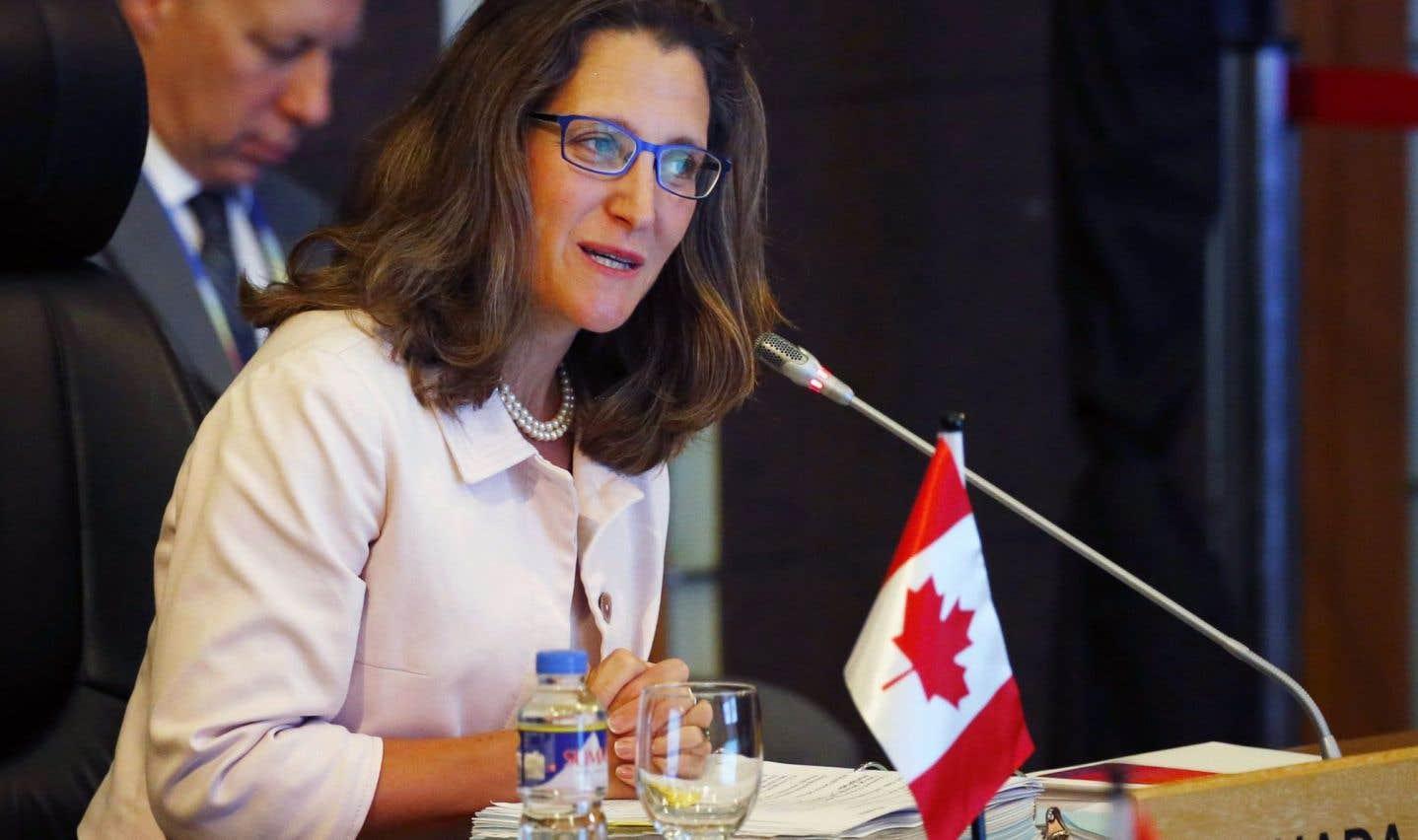 Ottawa s'inquiète de la répression de civils grâce à des blindés canadiens en Arabie saoudite