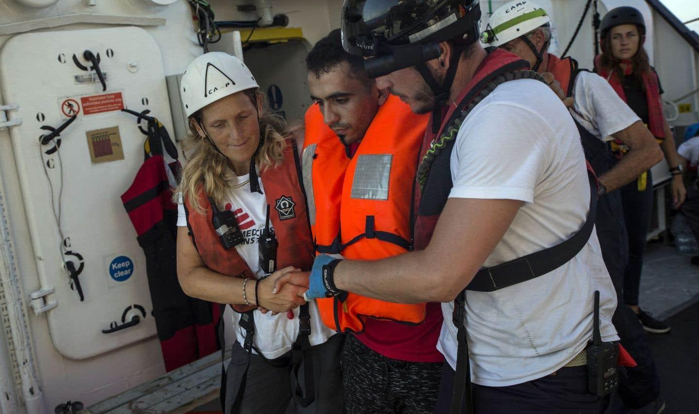 Confusion pour les ONG de secours aux migrants en Méditerranée
