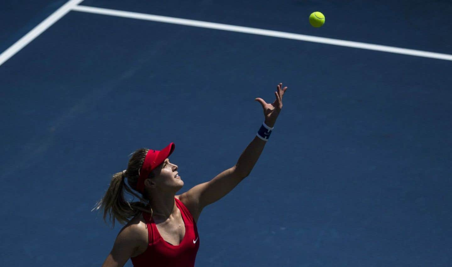 Bouchard bloquée au premier tour en simple