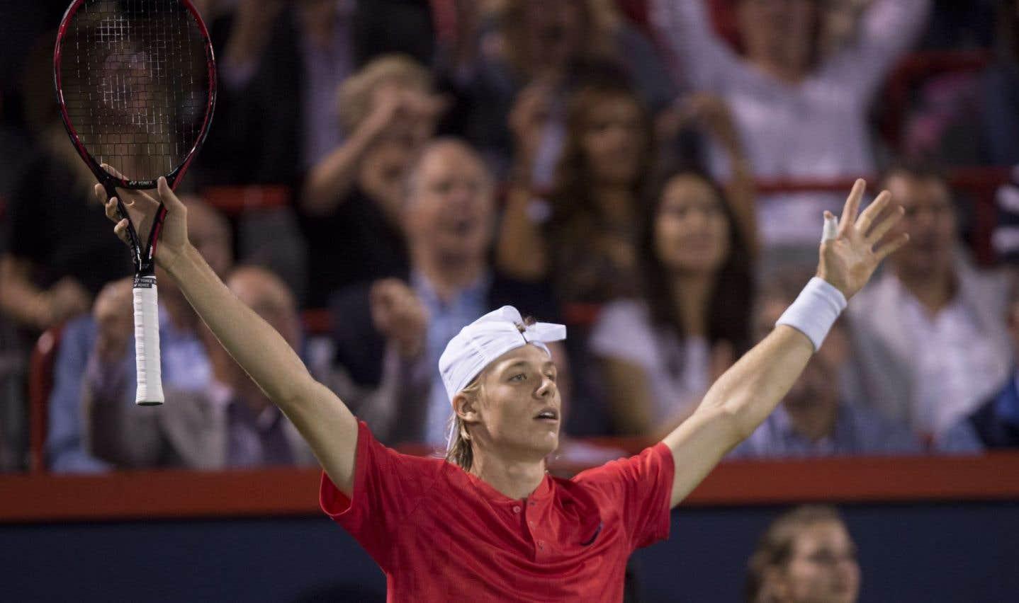 Coupe Rogers: le Canadien Denis Shapovalov bat Rafael Nadal en trois manches