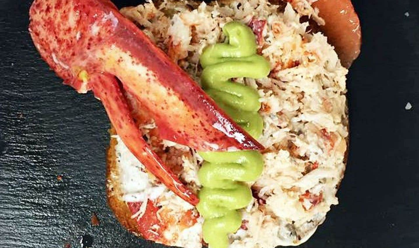 La recette de tartine de homard et mayo truffée sur pain brioché, purée d'avocat