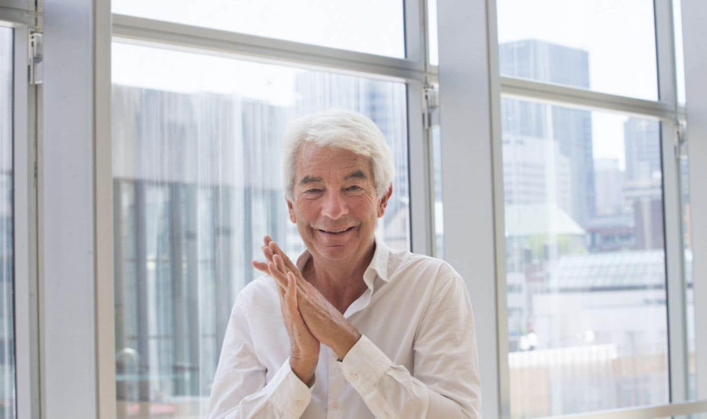 À 69ans, Jean-Philippe Collard n'a pas perdu sa superbe, son aplomb, sa puissance, son élégance.