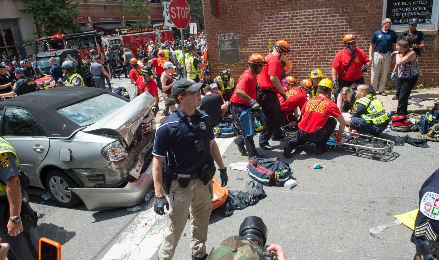 Virginie: une manifestation de l'extrême droite vire au drame