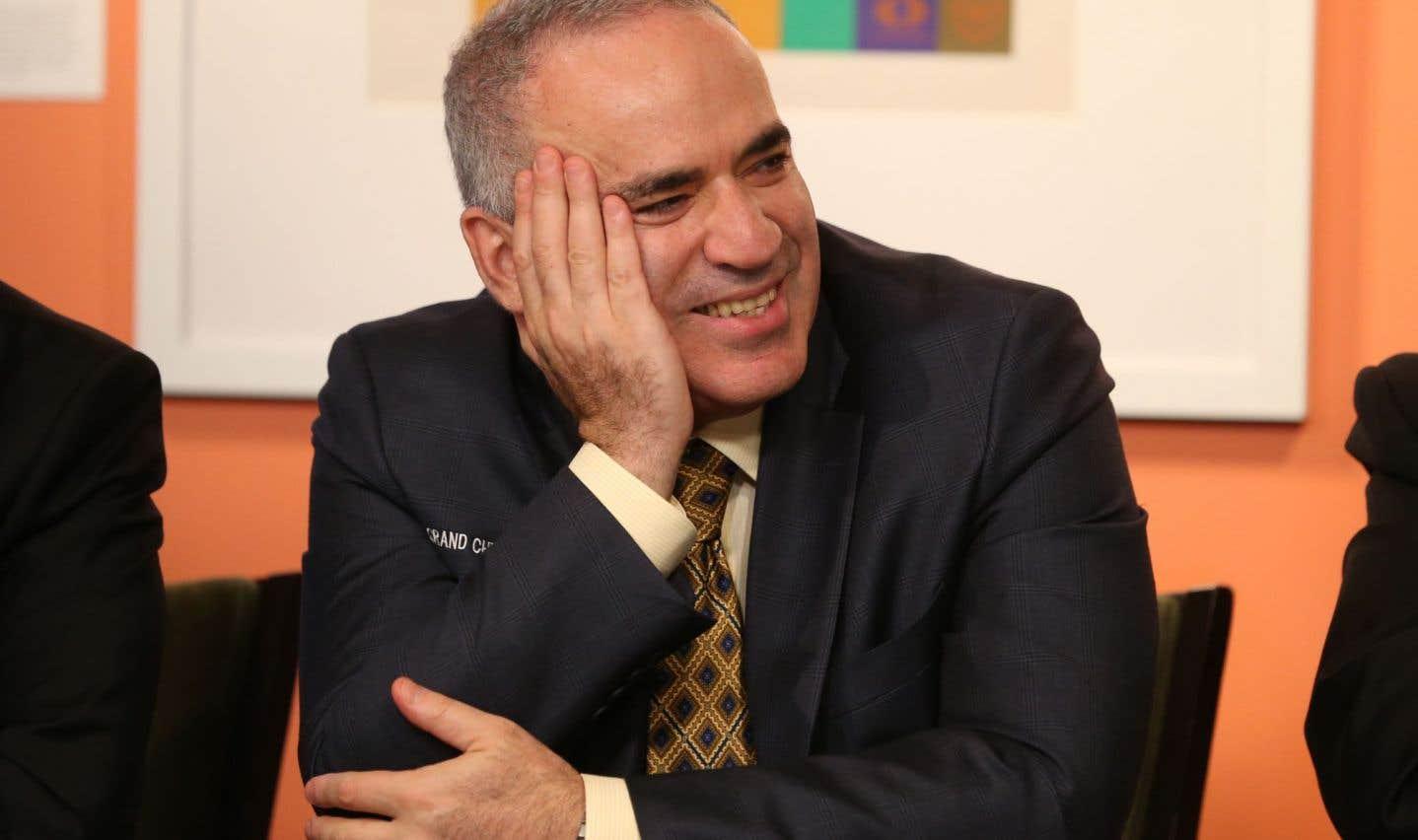 Le temps d'une semaine, Kasparov s'offre une «parenthèse» pour profiter de sa retraite.