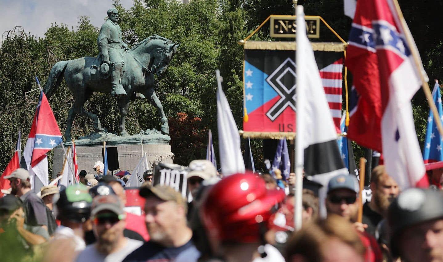 Sous Trump, une nouvelle vague d'extrême droite émerge