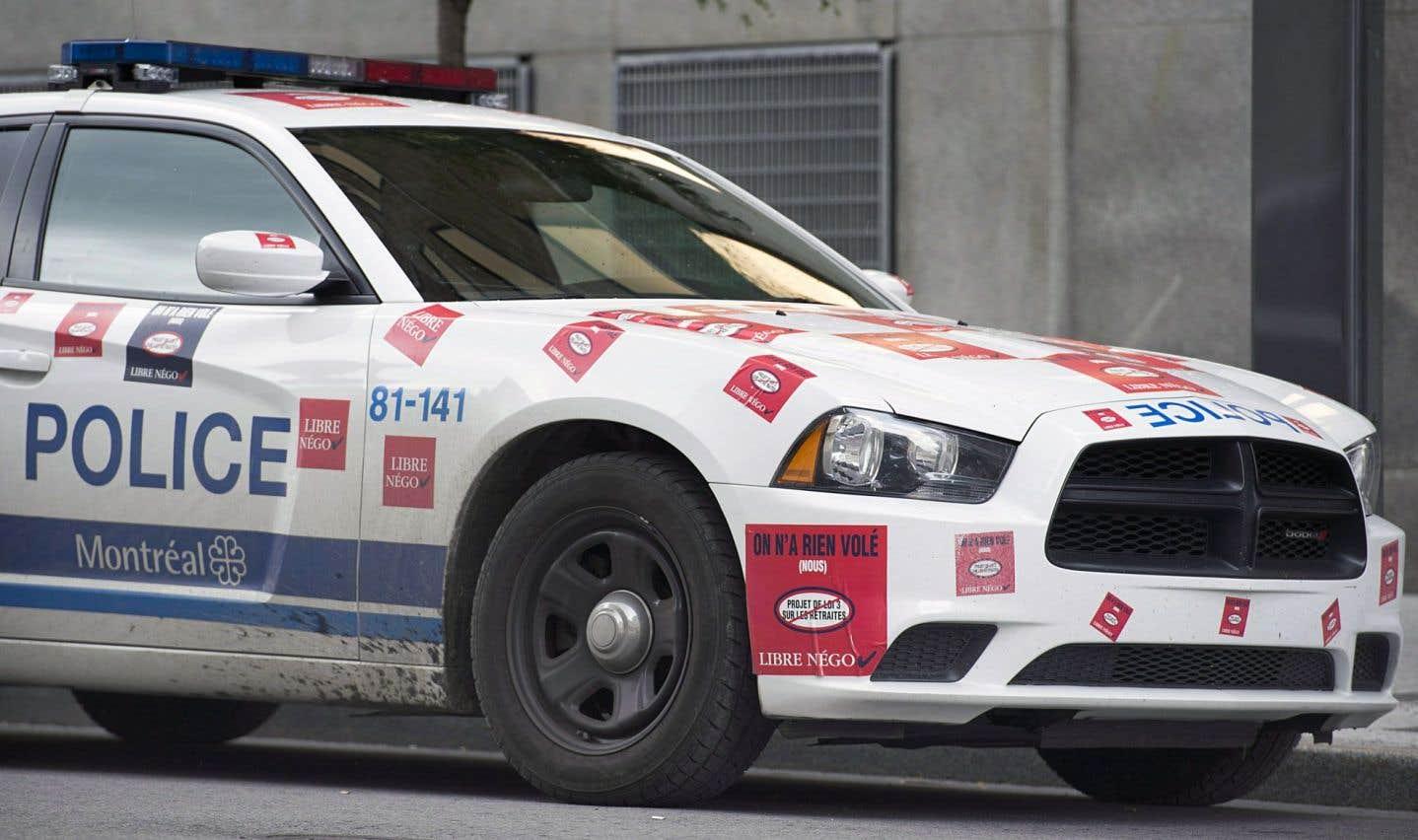 Les policiers du SPVM acceptent de payer la moitié de leur régime de retraite