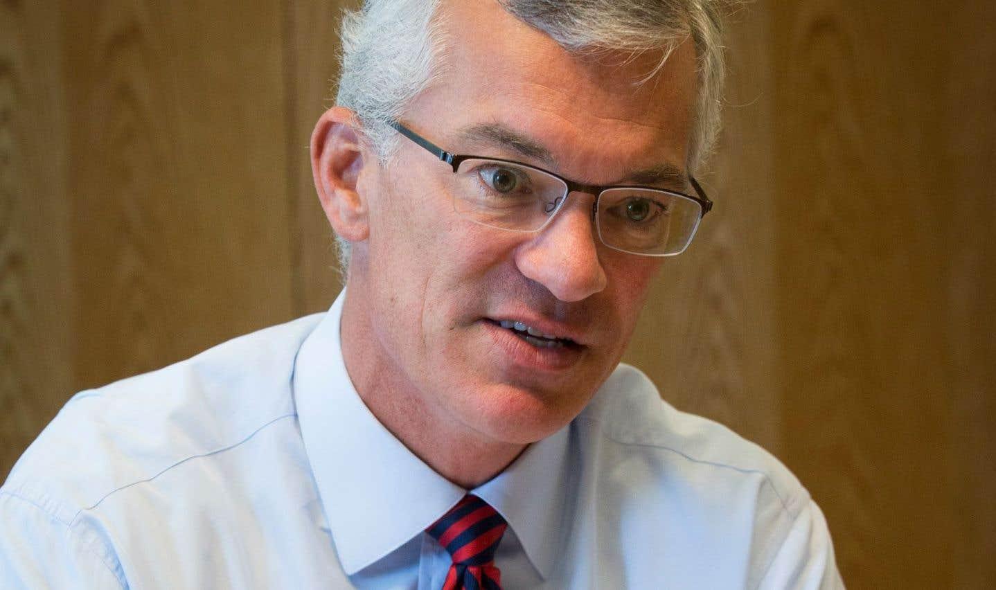 Le président et chef de la direction de la Banque de développement du Canada,Michael Denham