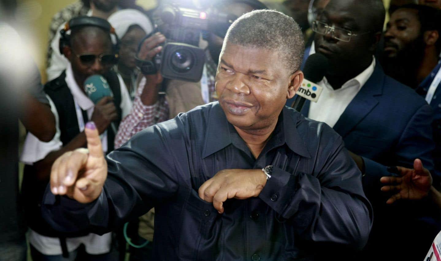 Le candidat du parti au pouvoir, Joao Lourenço (sur la photo), succédera à la présidence à José Eduardo dos Santos, sur le départ après 38 ans d'un règne sans partage.