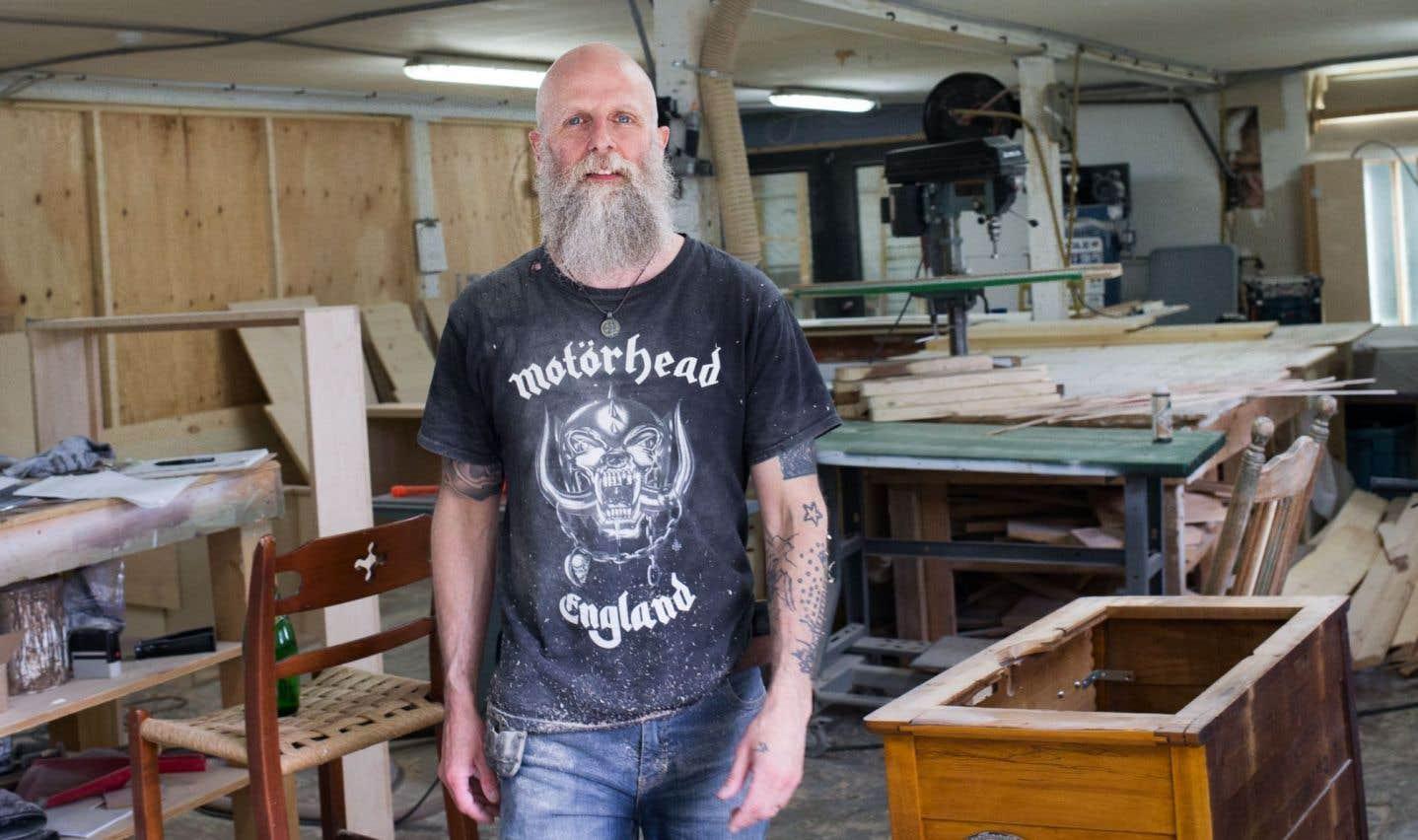 Sébastien La Rocque construit ses romans comme il assemble des armoires