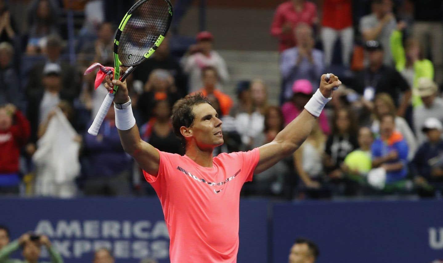 «C'était trop bruyant», dit Nadal