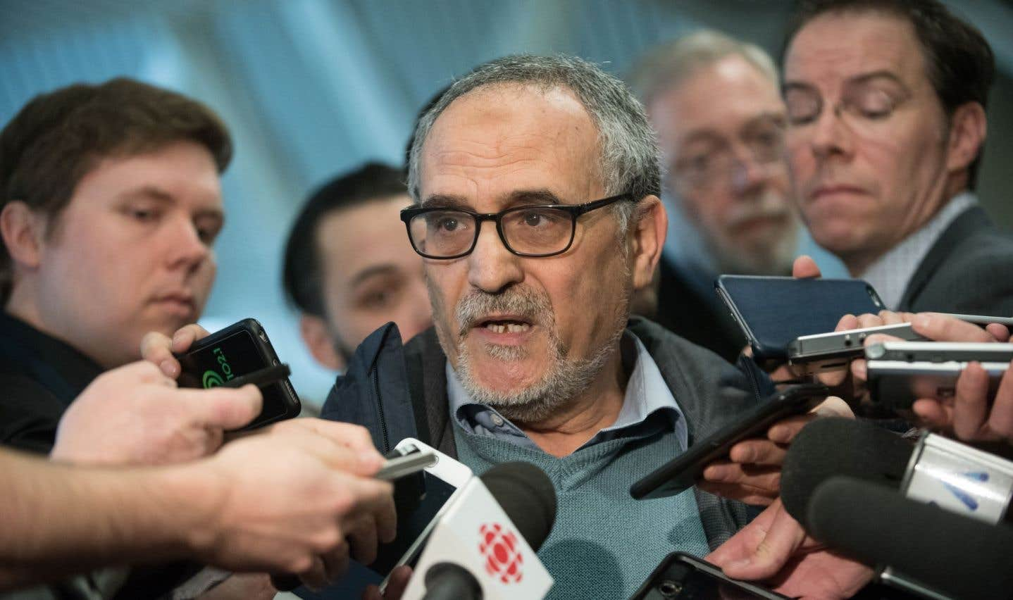 La voiture du président du Centre culturel islamique de Québec incendiée