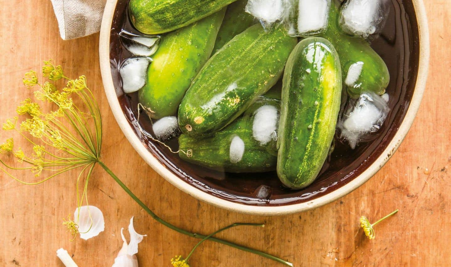 La recette des «pickles» fameux de David Côté