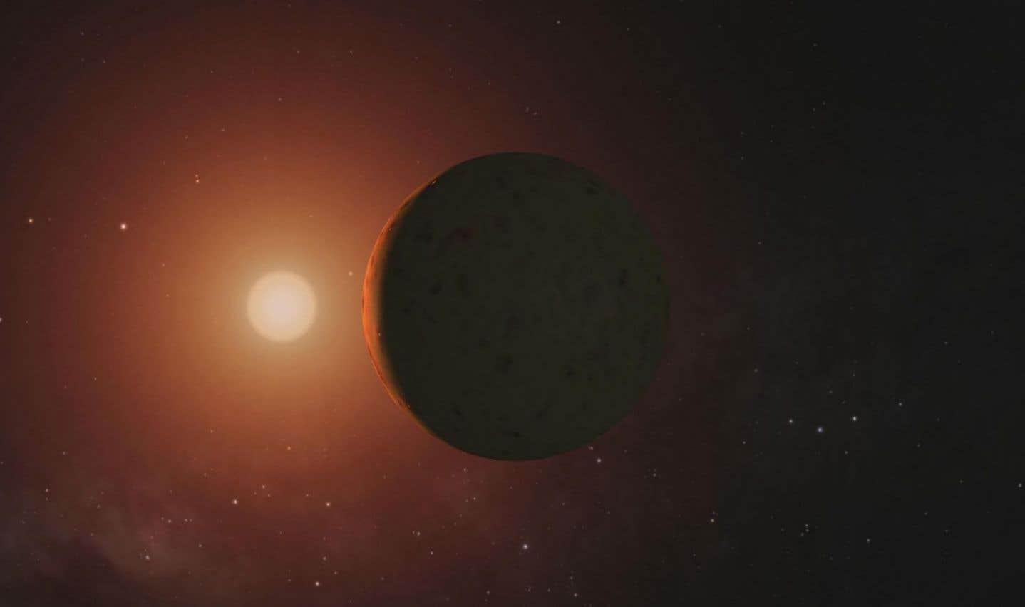 Des planètes autour de l'étoile TRAPPIST-1 pourraient avoir encore de l'eau