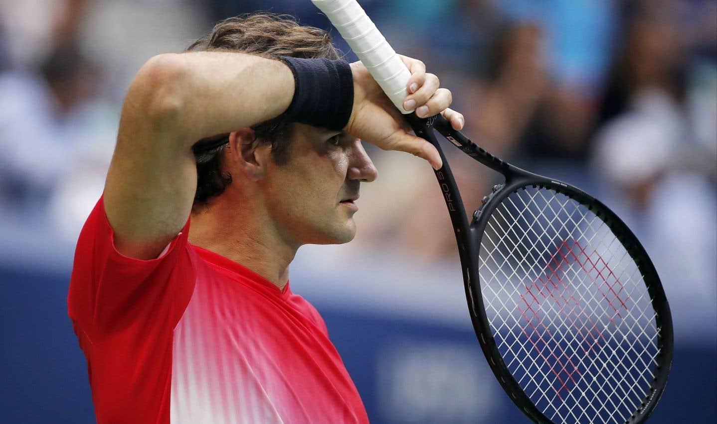 Roger Federer l'emporte sans convaincre