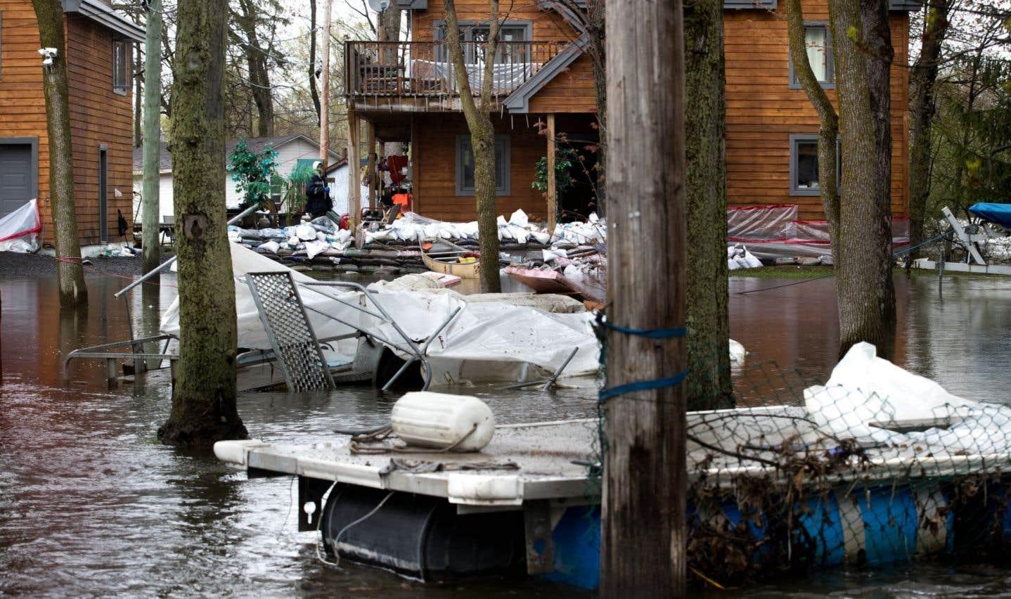 Inondations printanières: 223millions en dommages au Québec et en Ontario