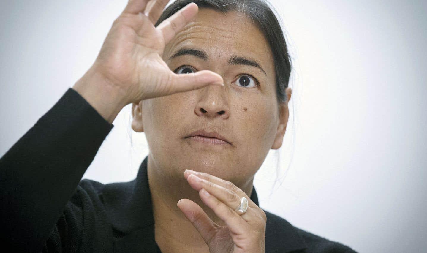 Michèle Audette admet avoir songé à démissionner de la Commission.