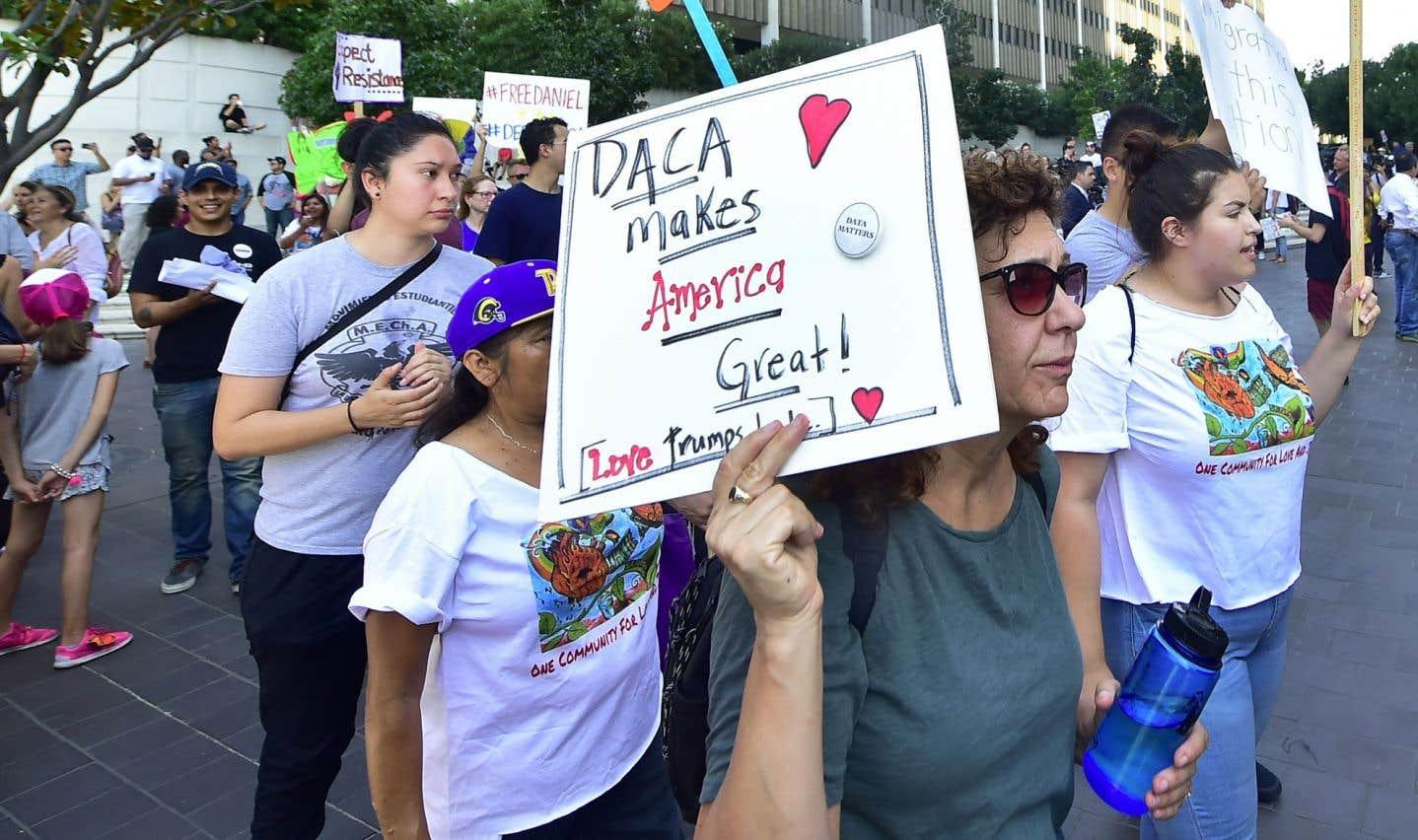 Les «Dreamers», ces jeunes sans-papiers, bientôt expulsés des États-Unis?