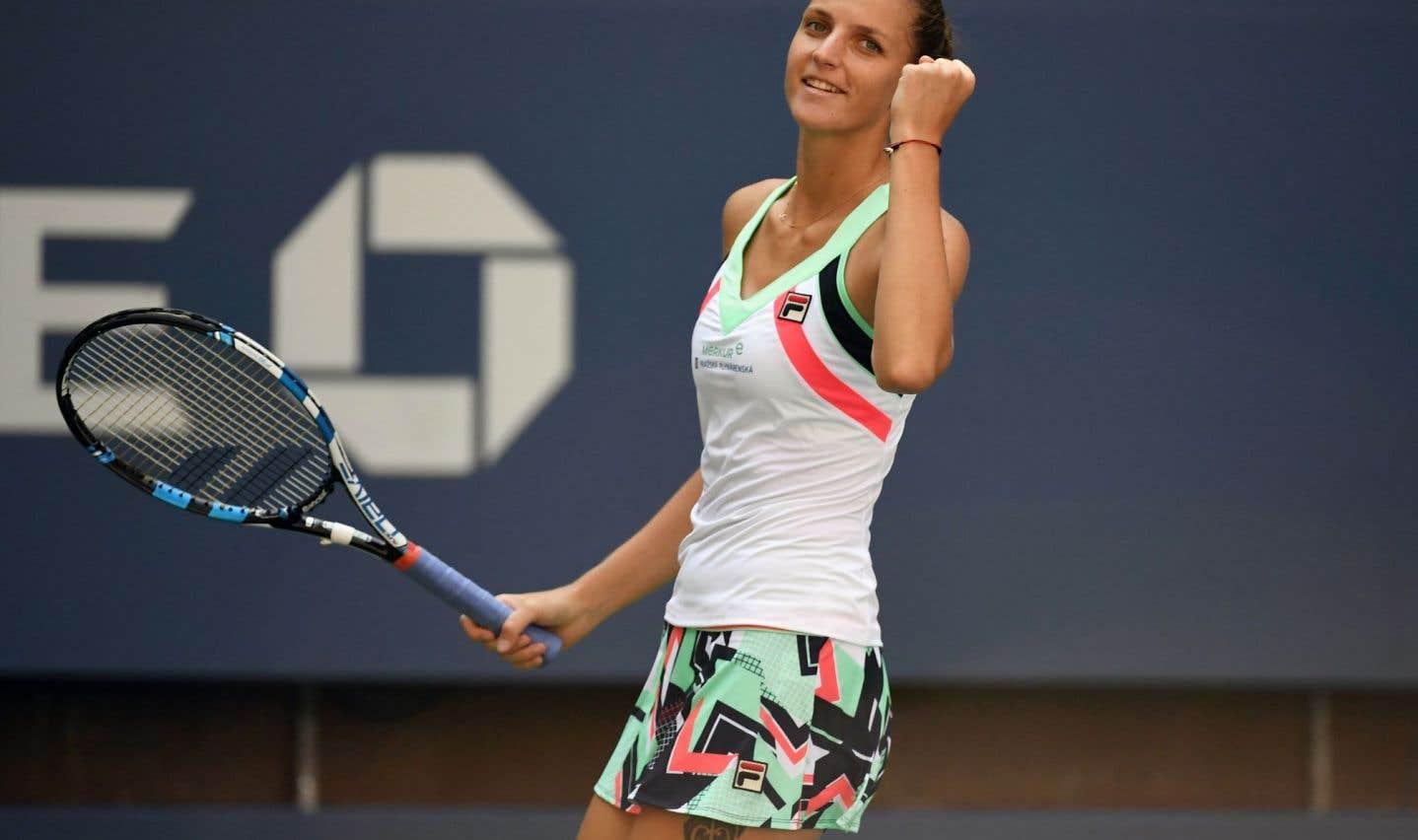Karolina Pliskova affrontera en quart de finale la 20e tête de série Coco Vandeweghe.